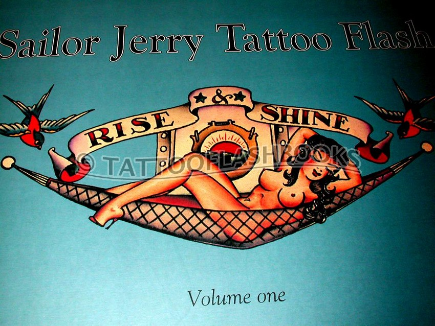 sailor jerry tattoo flash volumes